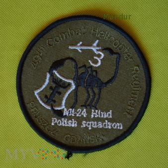 Oznaka 49th Combat Helicopter Regiment