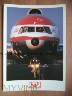 Kartka pocztowa samolot