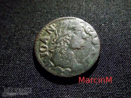 szeląg koronny 1664 20