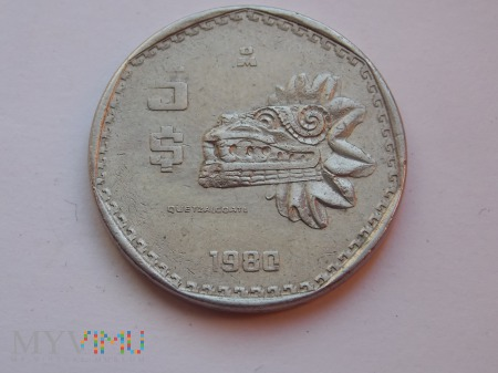 5 PESOS 1980 - MEKSYK
