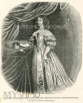 królowa Eleonora - żona Michała Wiśniowieckiego