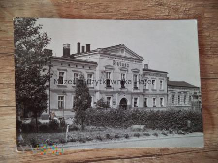 WOŹNIKI Ratusz - siedziba Miejskiej Rady Narodow