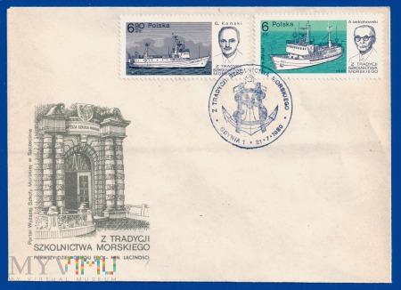 Z tradycji szkolnictwa morskiego.21.7.1980.b