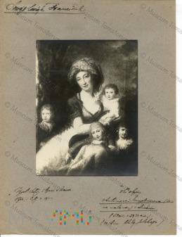 Zamoście - obraz z dworu - Antonina Smuglewiczowa