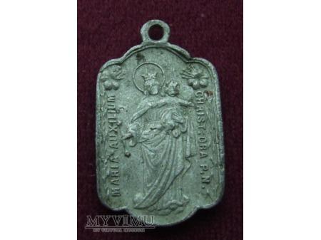 Medalik z Matką Bożą Wspomożycielką Wiernych