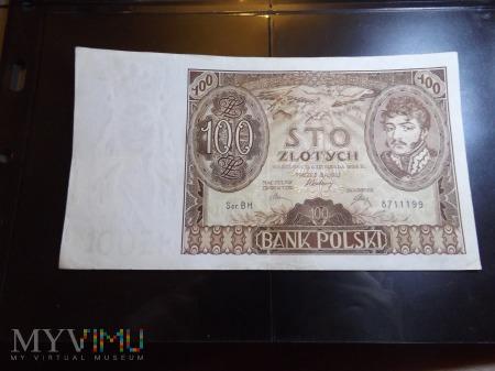 100 zlotych 1932 Polska