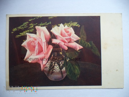 Kartka pocztowa - kwiaty