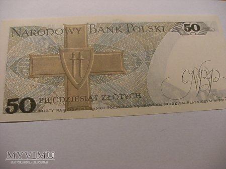 50 złotych 1986 rok.