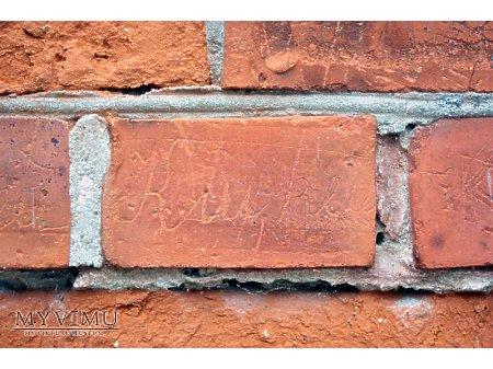 """Duże zdjęcie """"Stara Prochownia"""" - budynek A - inskrypcja #021"""