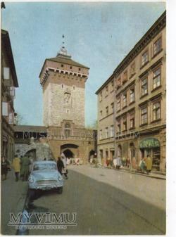 Kraków - Brama Floriańska - 1966