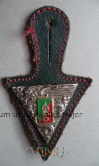 Legia Cudzoziemska 2 REP Drago odznaka spadochron.