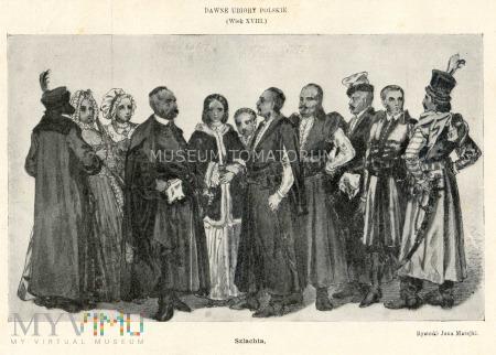 Matejko - Ubiory polskie z XVII w. Szlachta