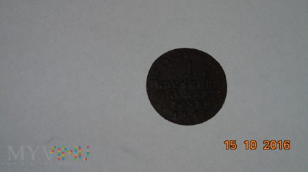 1 grosz Wielkiego Księstwa Poznańskiego 1816