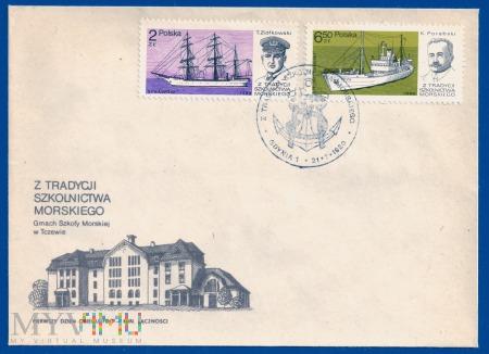 Z tradycji szkolnictwa morskiego.21.7.1980.c