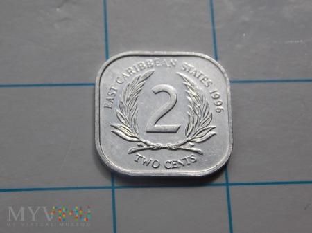 2 CENTY 1996 - KARAIBY(ANGLIA)
