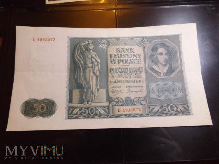 50 złotych 1941 Polska