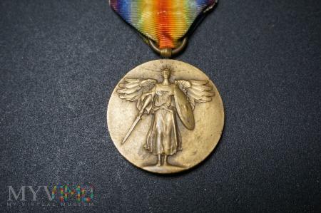 Medal Zwycięstwa 1914 - 1918 - USA z okuciem