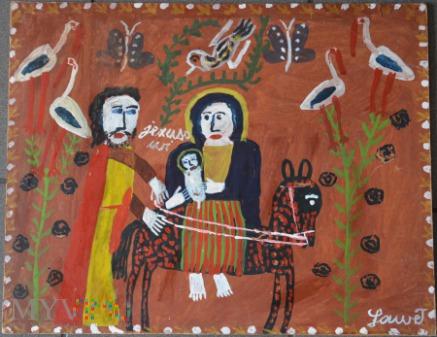 Obraz. Gaweł Katarzyna - Ucieczka do Egiptu