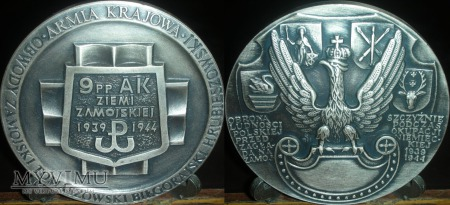 039. 9 Pułk Piechoty AK Ziemi Zamojskiej 1939-1944