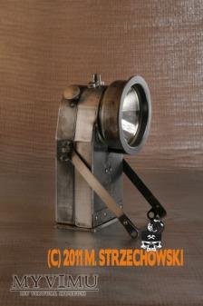 Duże zdjęcie Górnicza lampa elektryczna bezpieczeństwa DEAC