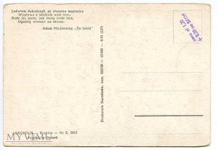 "Antoni Piotrowski - Adam Mickiewicz ""To lubię"""