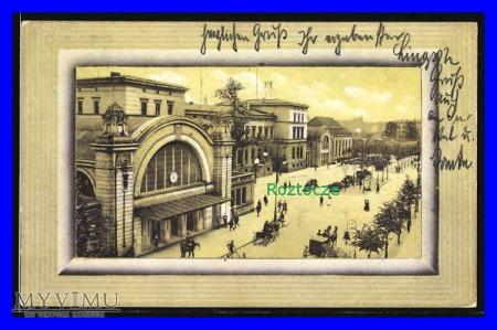 KATOWICE Kattowitz Dworzec kolejowy