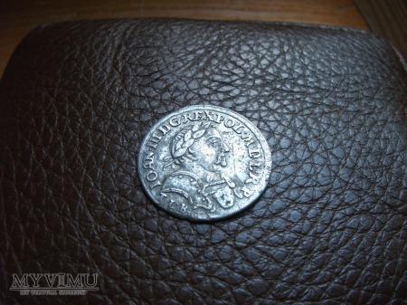 Szóstak Jan III Sobieski 1680