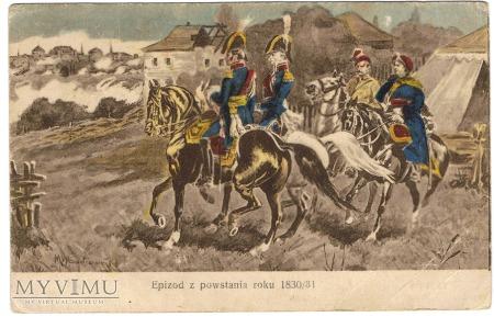 Epizod z powstania roku 1830/31