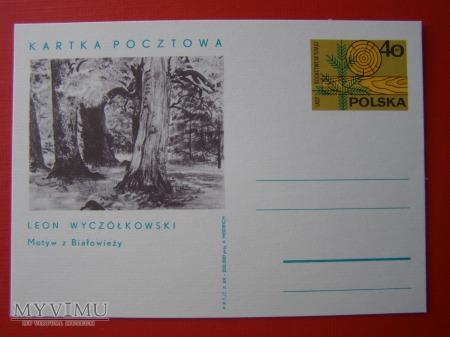 11. L. Wyczółkowski Motyw z Białowieży