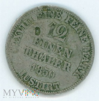 1/12 talara- Prusy- 1850