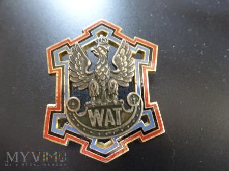 Numerowana Odznaka Absolwent WAT - wzór 2