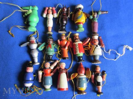 Laleczki drewniane,figurki-KWHW