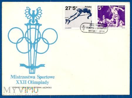 Mistrzostwa Sportowe XXII Olimpiady-5.4.1983b