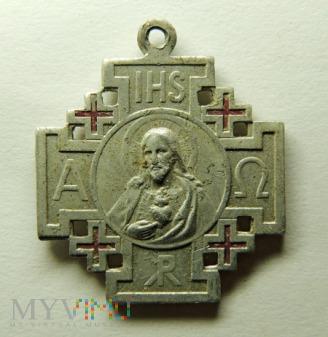 Medalik Krzyż Jerozolimski
