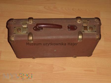 Stara walizka tekturowa waliza podróżna CZM DW-III