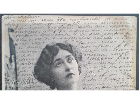 Postcrossing w czasach Belle époque CAVALIERI 1903