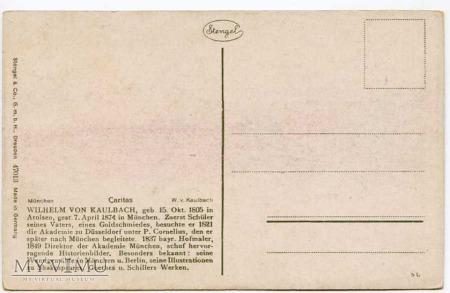 Kaulbach - Macierzyństwo klasyczne - Caritas