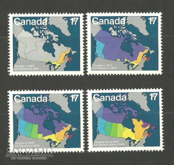 Kanada - mapy