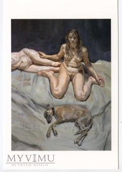 Freud - Pluto i siostry Bateman - Akt z psem