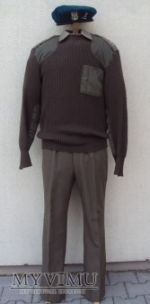Mundur wyjściowy wz.92 ze swetrem