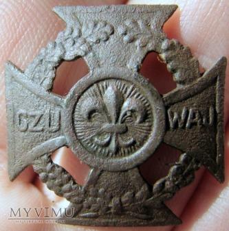 Krzyż harcerski 1945r nr 130