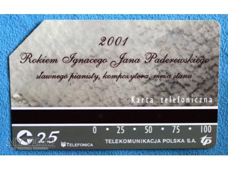 2001 Rokiem Ignacego Jana Paderewskiego