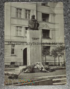 ZABRZE Pomnik Karola Miarki