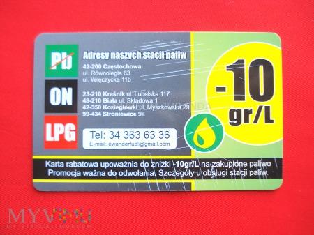 Karta stacji paliw e-fuel
