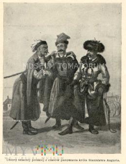 Ubiory polskie z XVII w. Szlachta