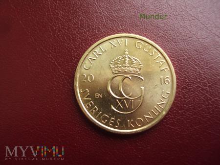 Moneta: 5 kronor 2016