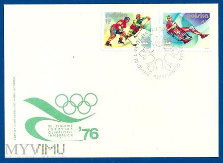 Zimowe Igrzyska Olimpijskie w Insbrucku.10.1.1976.