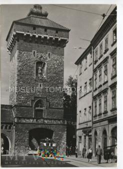 Kraków - Brama Floriańska - 1958
