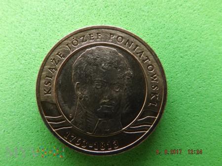 Polska 2 złote, 2013 K. JÓZEF PONIATOWSKI