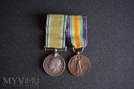 Miniatury medali - wyk. Spink&Son - I Wojna